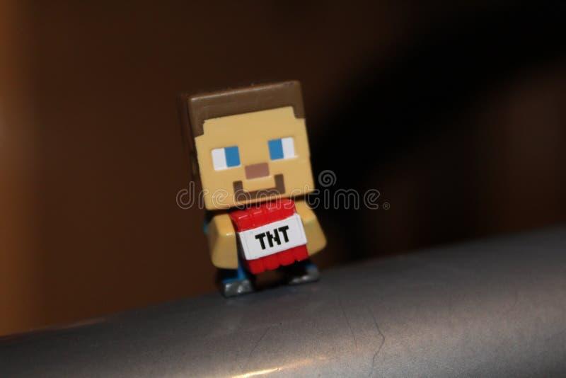 Minecraft photographie stock libre de droits