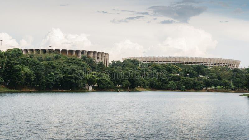 Mineirao stadium w Belo Horizonte, Brazylia obrazy stock