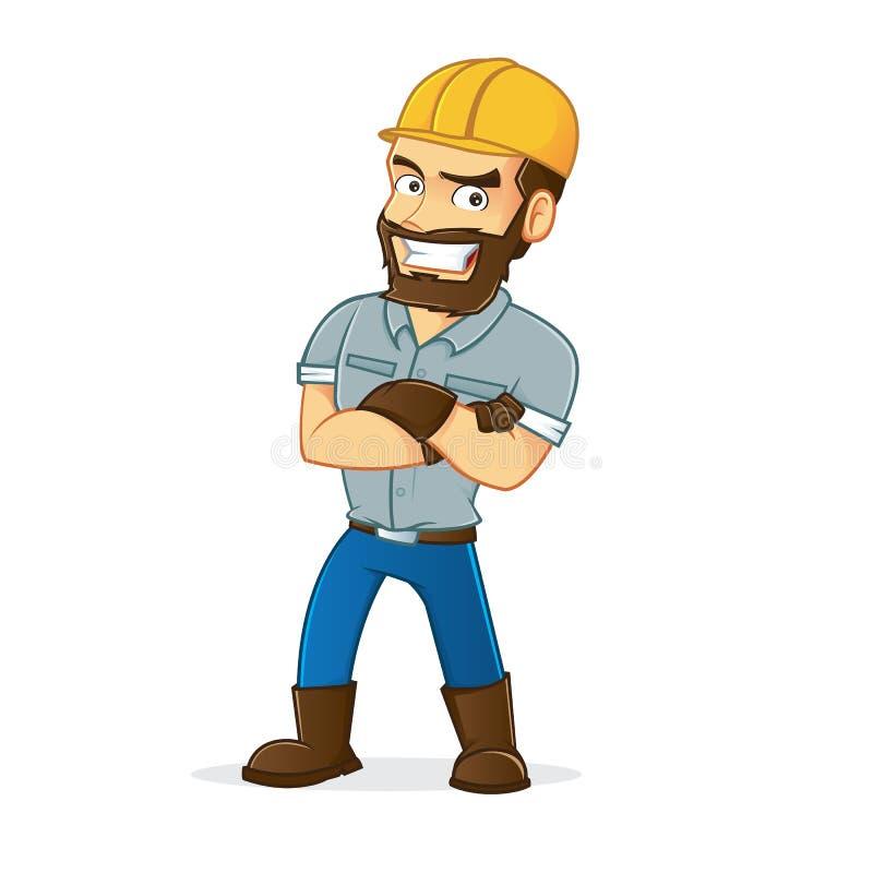 mineiro ilustração royalty free