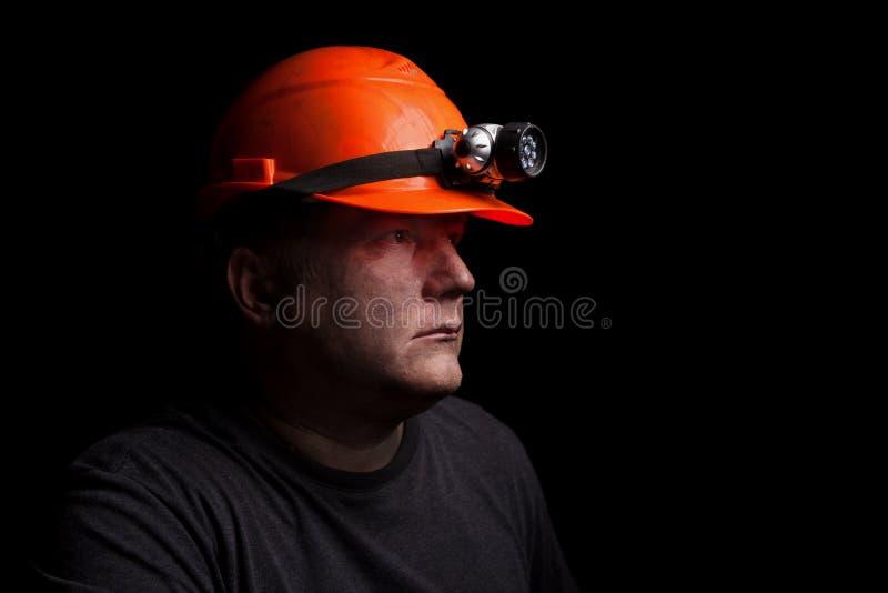 Mineiro de carvão fotografia de stock
