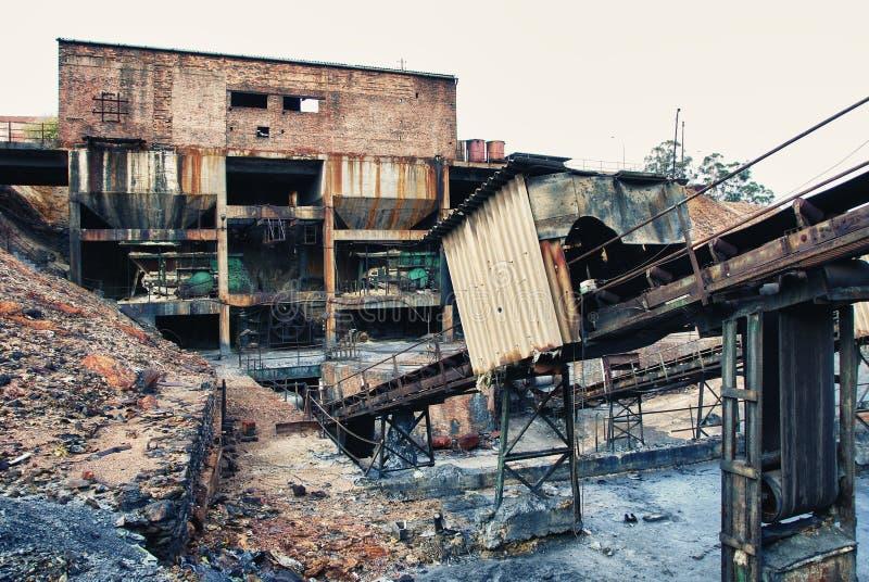 Minenindustrie lizenzfreie stockfotografie