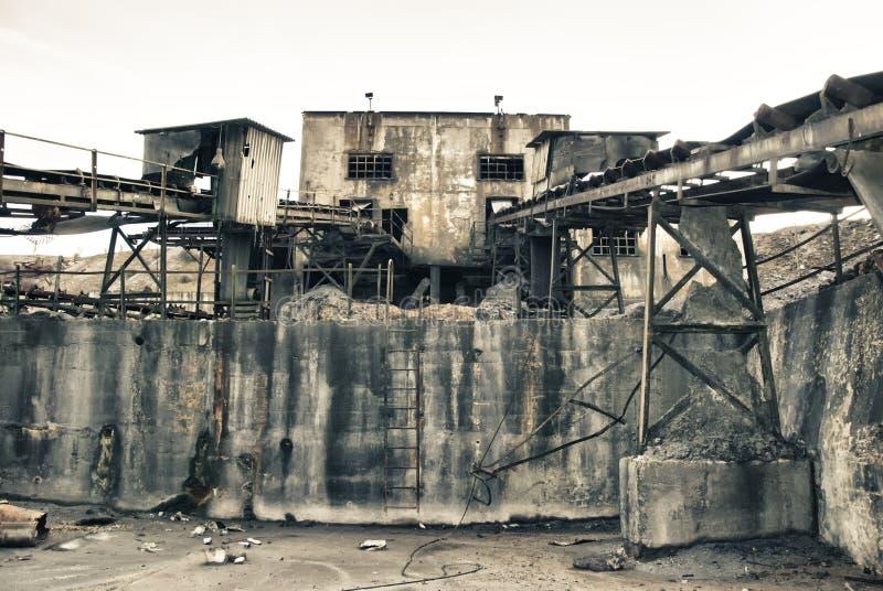 Minenindustrie stockfoto