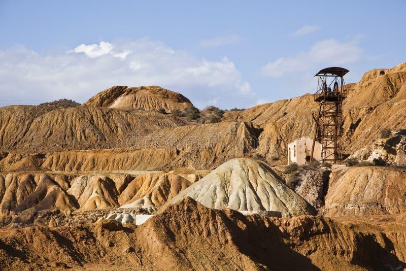 Minenmaschiene lizenzfreie stockfotos