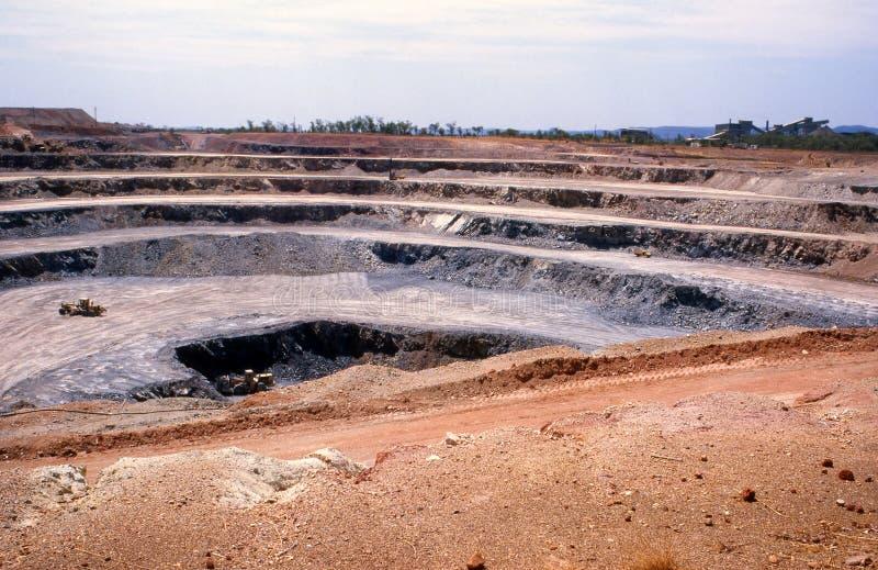 Minería aurífera imágenes de archivo libres de regalías