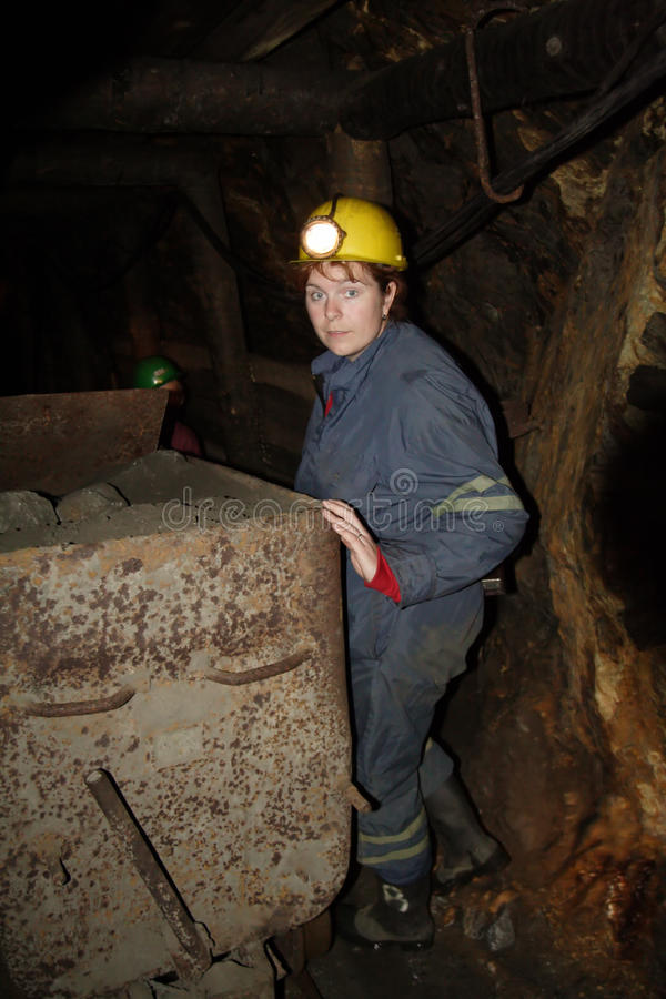 Free Miner Woman Royalty Free Stock Photo - 10066305