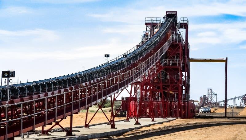 Mineração e equipamento do manganês fotos de stock royalty free