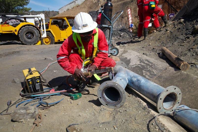 Mineração e equipamento do paládio da platina fotografia de stock royalty free