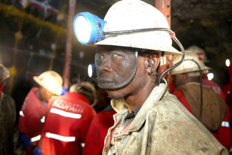 Mineração subterrânea e equipamento do paládio da platina imagens de stock