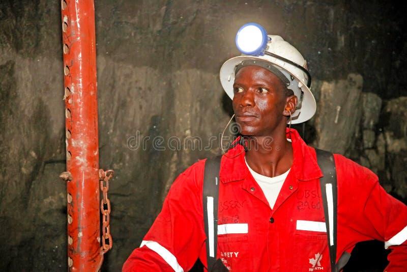 Mineração subterrânea e equipamento do paládio da platina imagem de stock