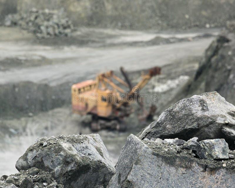 Mineraal asbest royalty-vrije stock foto's