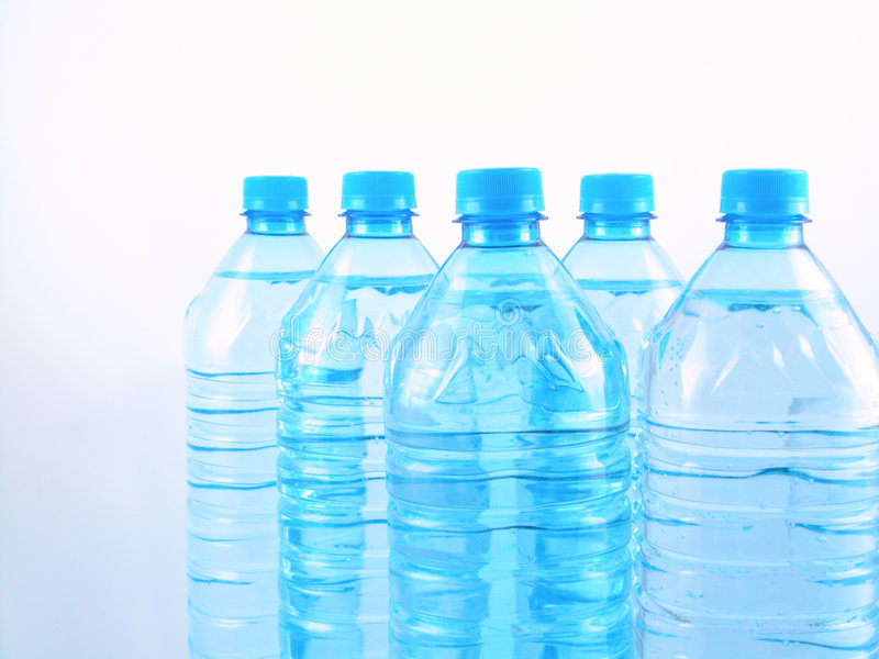 Mineraalwater stock foto