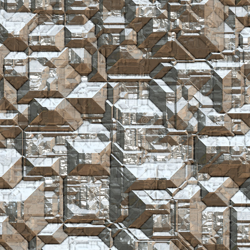 Minerai argenté illustration libre de droits