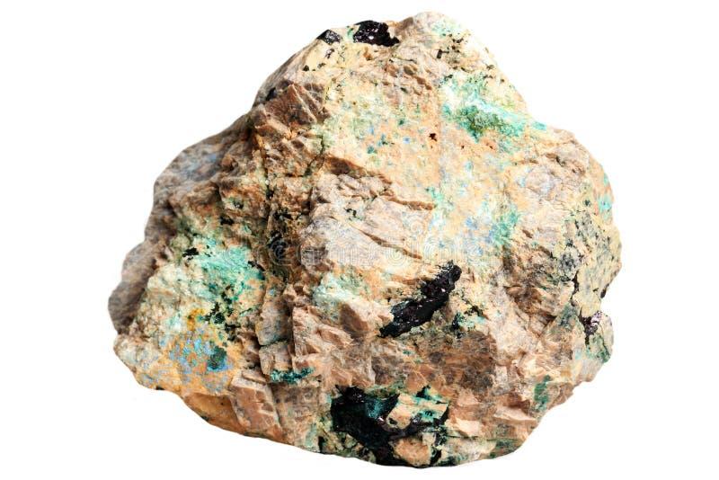 Minerais de cuivre - lazurite, azurite, malachite photos libres de droits