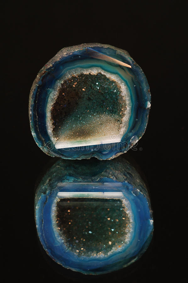 Mineral Agate Stock Photo