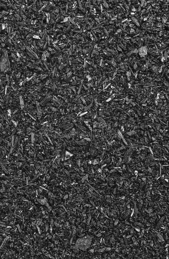 Mineral background detail in black and white royalty free stock image