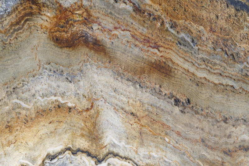 Mineral background. Folded quartzite stone macro detail. Geology royalty free stock photo