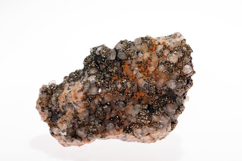 mineral da calcite do grupo de carbonato fotos de stock royalty free