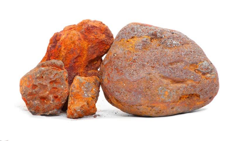 Mineral de hierro imágenes de archivo libres de regalías
