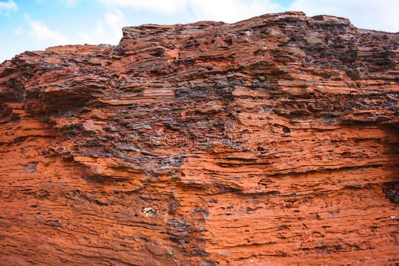 Mineral de hierro de Pilbara foto de archivo