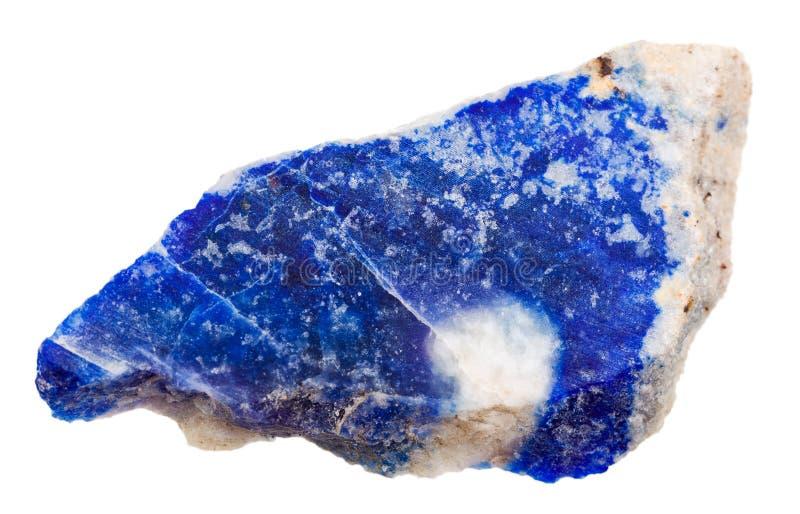 Mineral de Lazurite imagens de stock