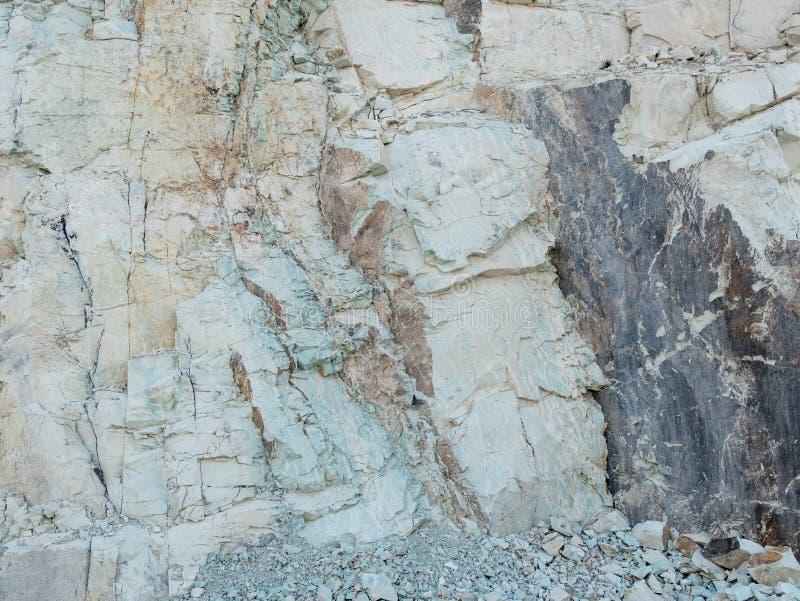 Mineral- des Steinbruchzeoliths rohe und Steinwand lizenzfreies stockfoto
