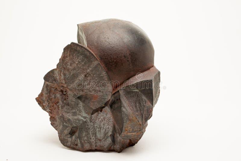 Mineral: Hematite royaltyfri foto