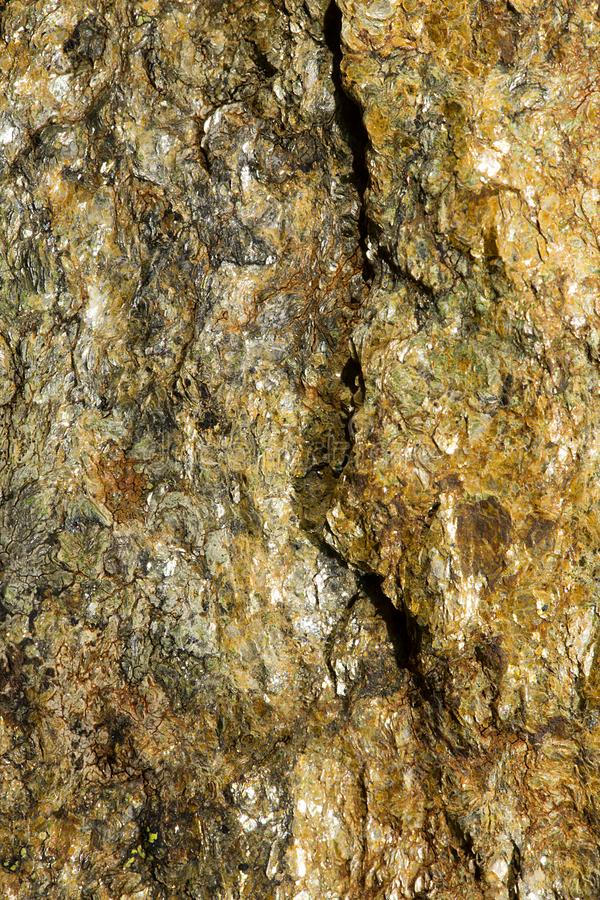 Fractured Mineral Surface stock images