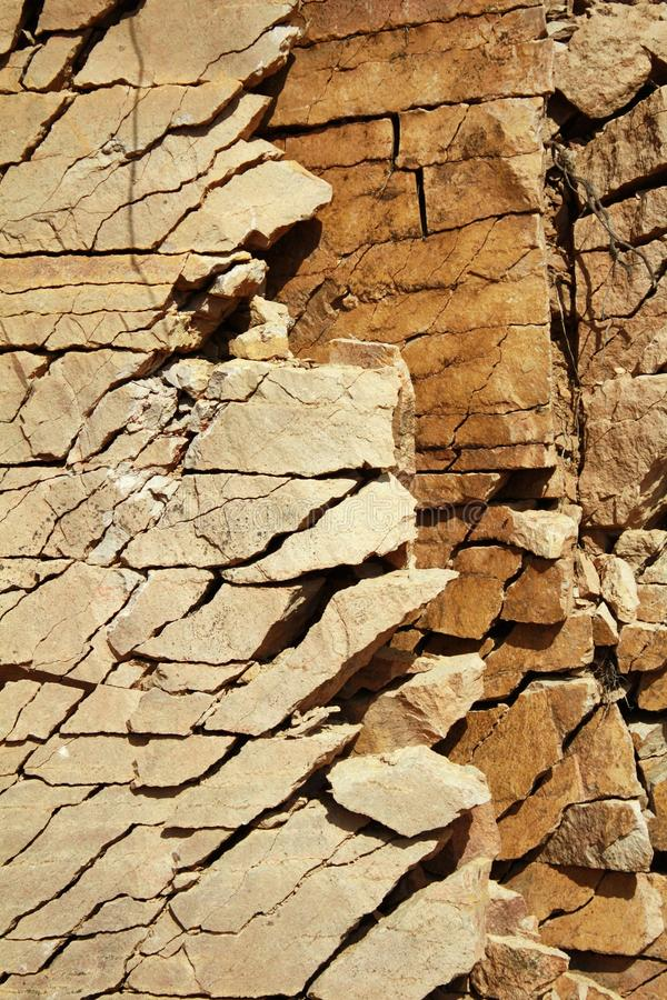 Mineral surface sand stone stock photos