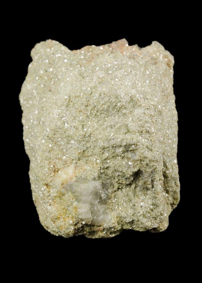 Mineral valioso del litio, mica verde clara del lepidolite imagen de archivo