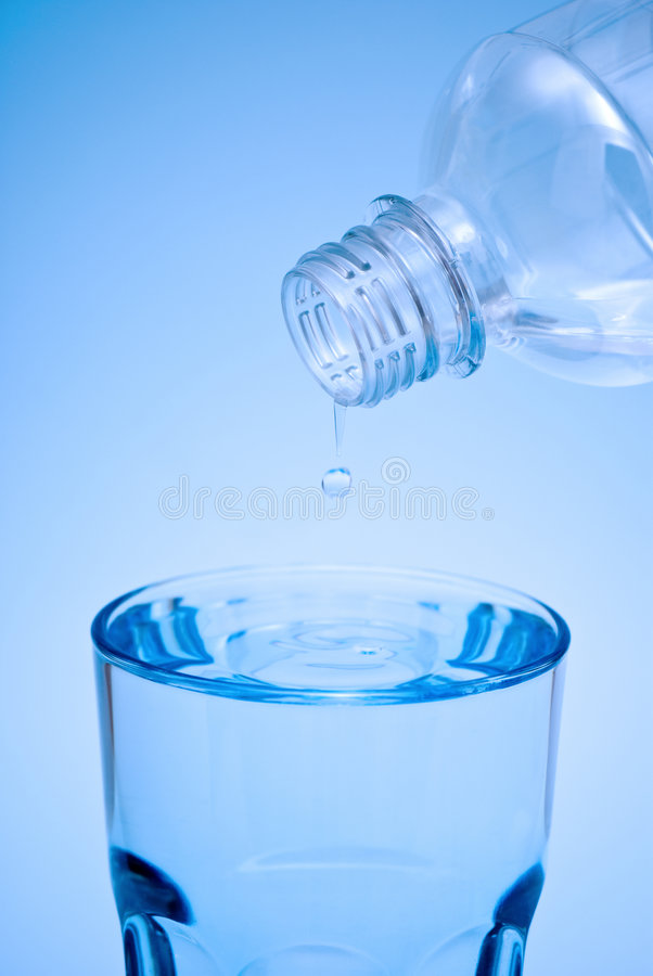 Mineral Water Detox stock photos