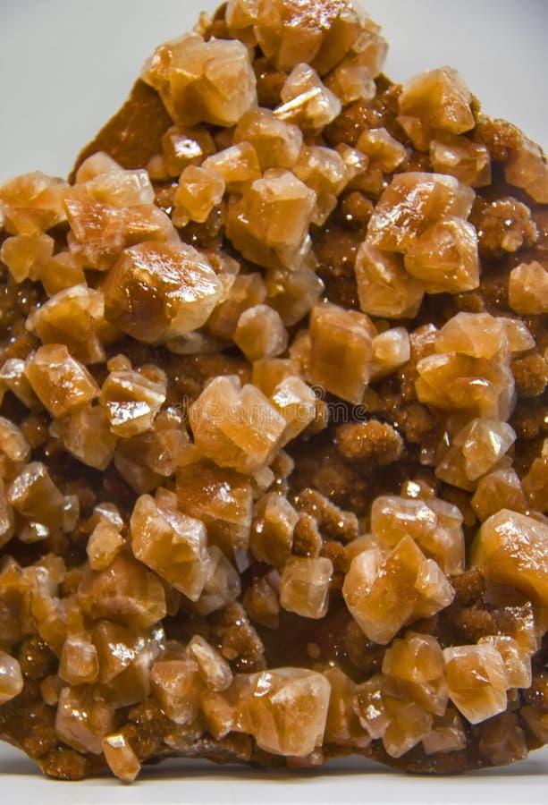 Minerale della calcite dal Messico fotografia stock