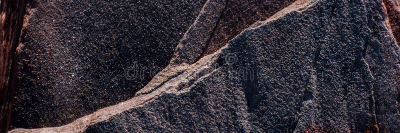 Minerale di ematite distrutto dalle circostanze climatiche fotografia stock