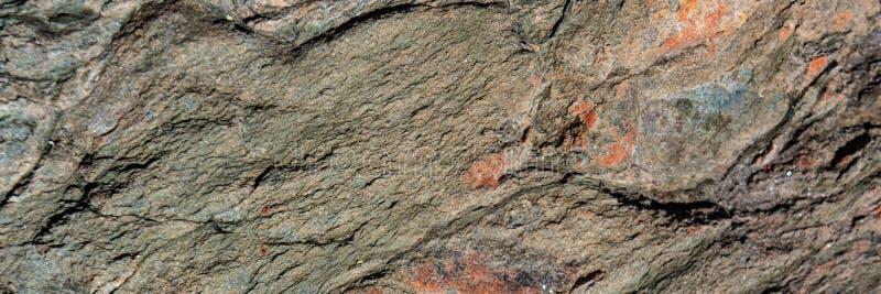 Minerale di ematite distrutto dalle circostanze climatiche fotografie stock