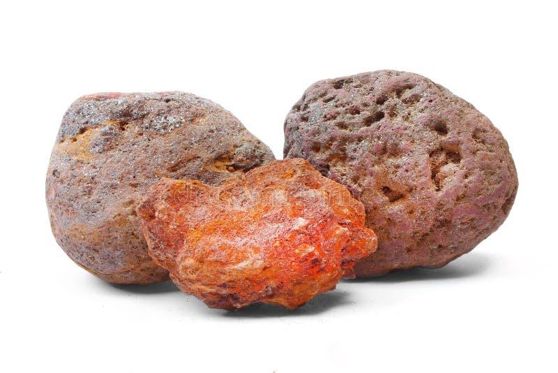 Minerale di ferro immagini stock libere da diritti