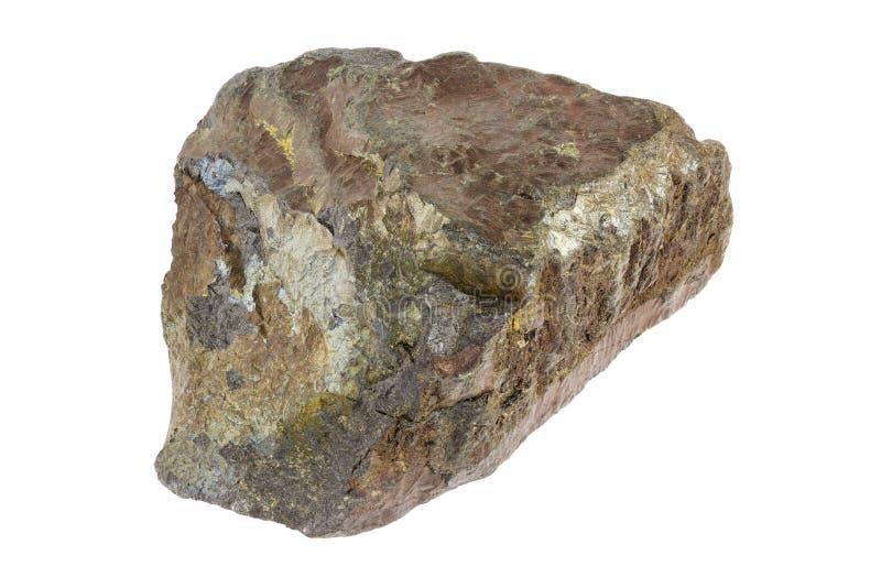 Minerale di ferro dell'ematite fotografia stock libera da diritti