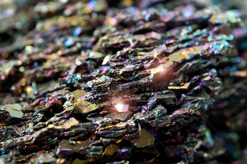 Minerale rots royalty-vrije stock foto's