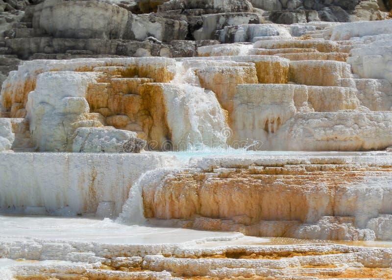 Mineralheiße quellen Yosemite lizenzfreies stockbild