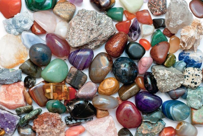 Minerali differenti fotografie stock
