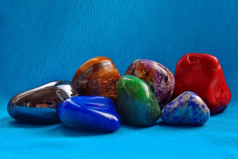 Minerali impressionanti delle rocce fotografia stock libera da diritti
