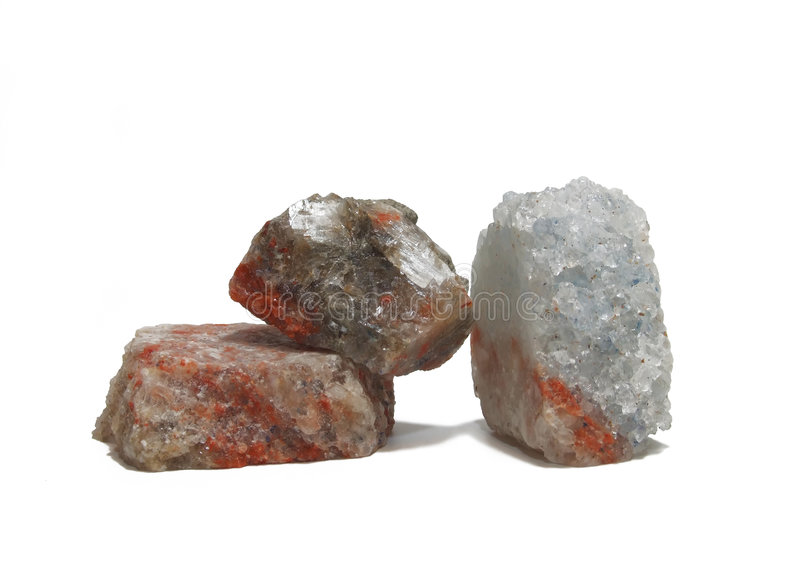 Mineralien 3 stockfotos