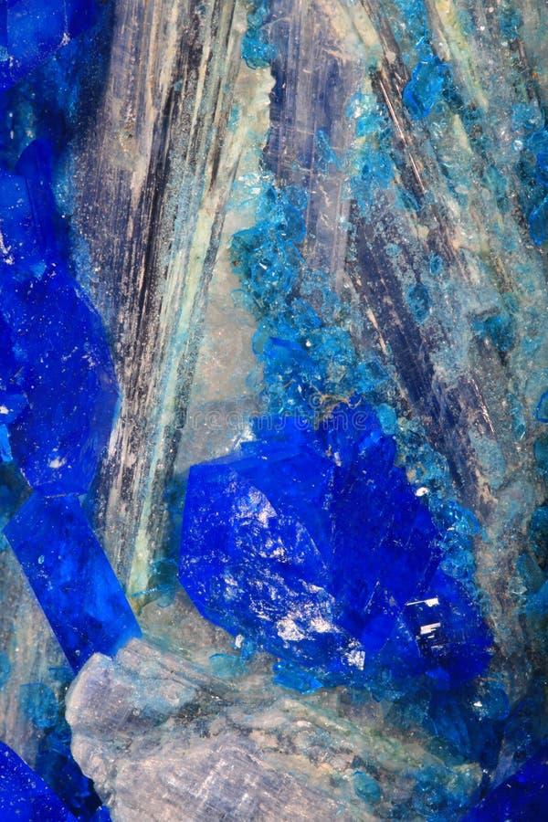 mineraliska kristaller arkivbilder