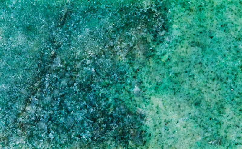 Mineralsteinbeschaffenheitsrüttler Listvenit Metasomatic Felsen, der aus Karbonatsankerite, -quarz und -muskovit besteht lizenzfreie stockbilder