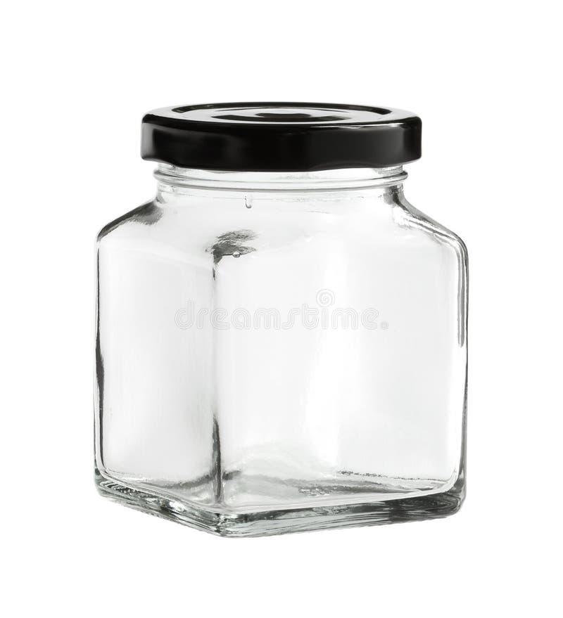 Mineralwasser des Glases bottle lizenzfreies stockfoto