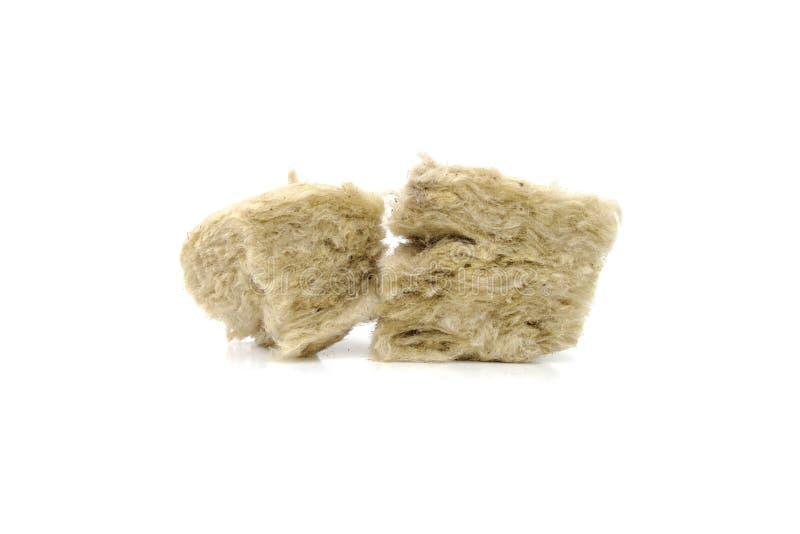 Mineralwolle für Isolierung Das Fiberglas stockbilder
