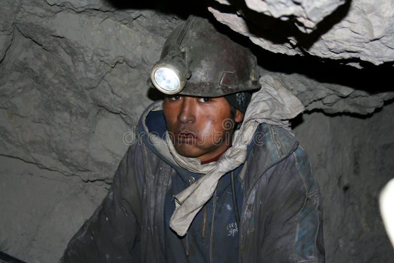 Minero foto de archivo libre de regalías