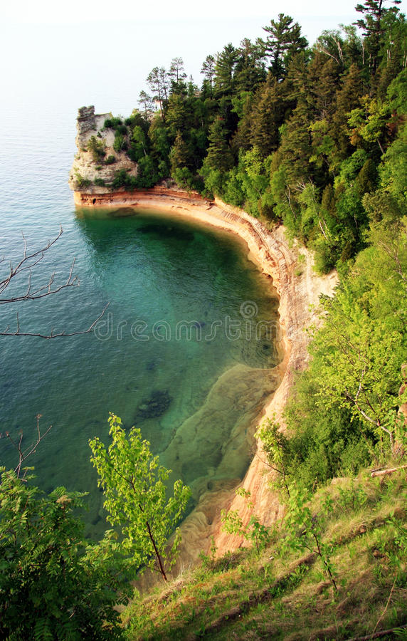 Miners Castle Pictured Rocks Royalty Free Stock Photos