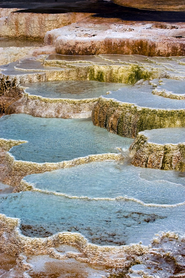 Minerva Hot Springs stock images
