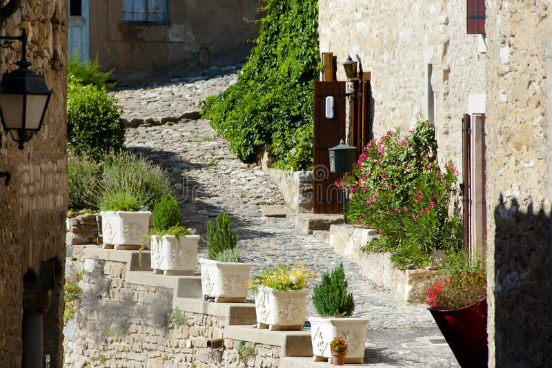 Minerve wioska - Francja zdjęcie royalty free