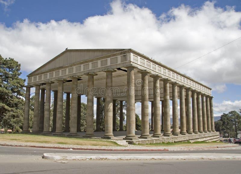 minerwo świątyni obraz royalty free
