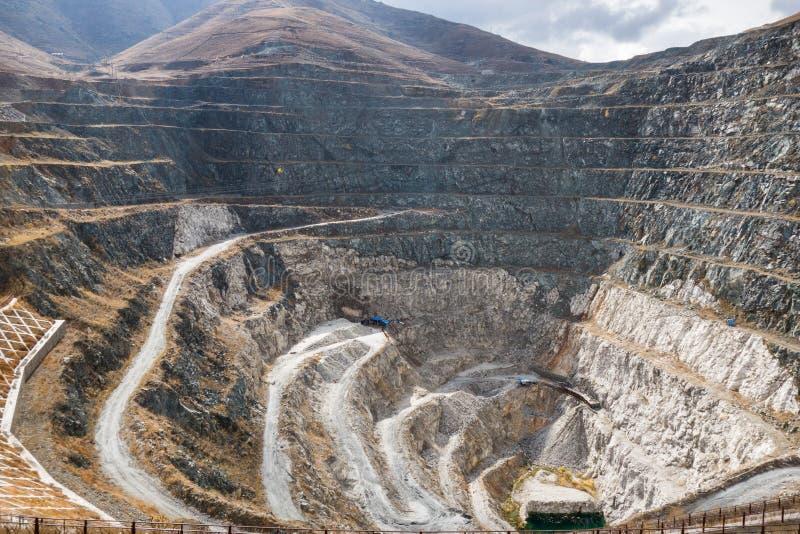 Mines dans le Xinjiang l'Altay photo libre de droits